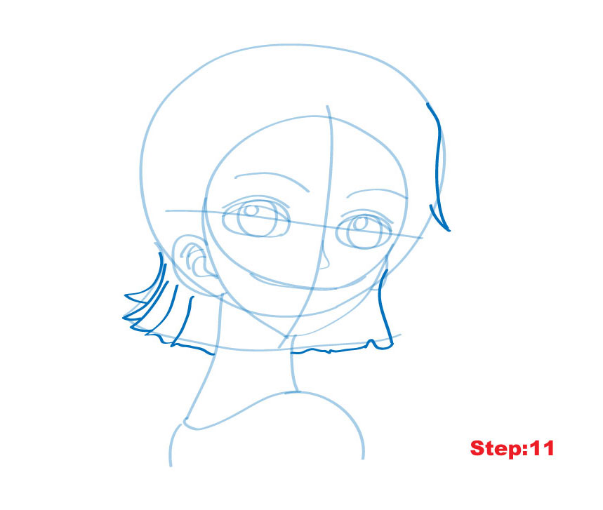 how to draw one piece characters step by step