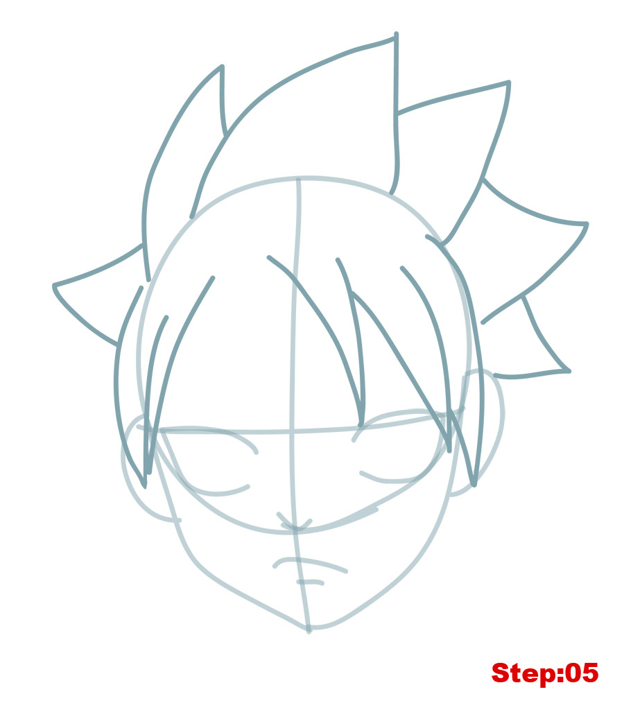 how to draw natsu from fairy tail mangajam com