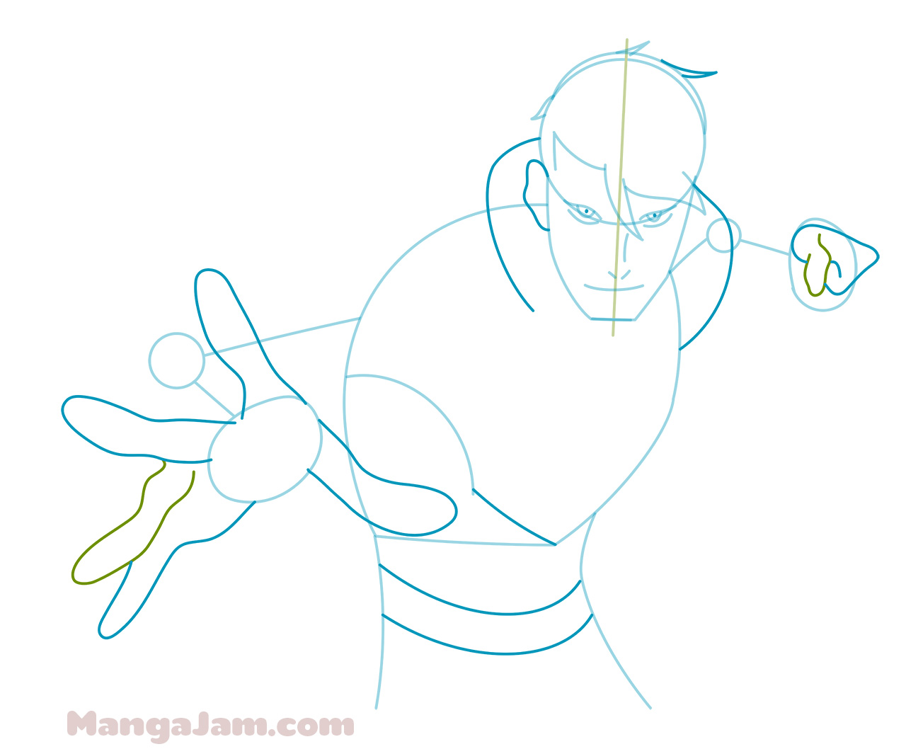 How To Draw Shirogane From Voltron