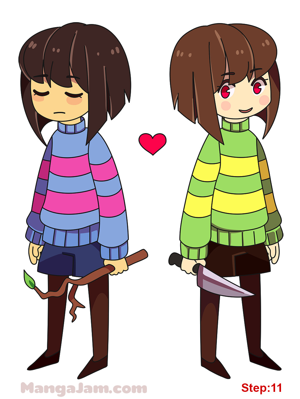 undertale how to meet chara