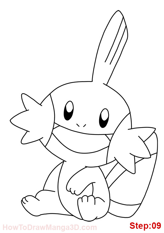 mudkip coloring pages - photo#19
