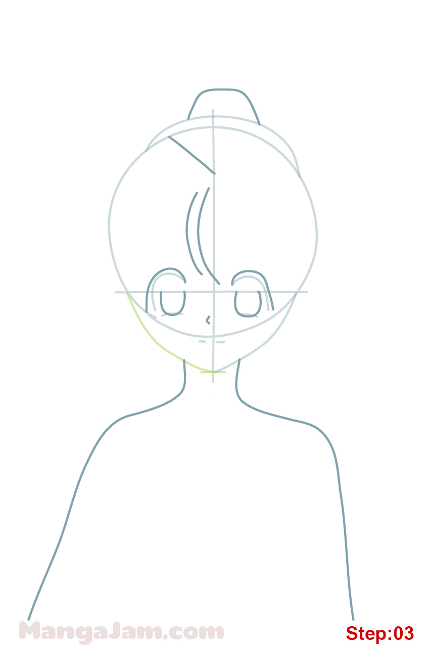 how to draw neon nostrade from hunter x hunter